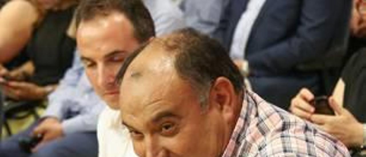 El alcalde de Benferri, el socialista Luis Vicente Mateo.