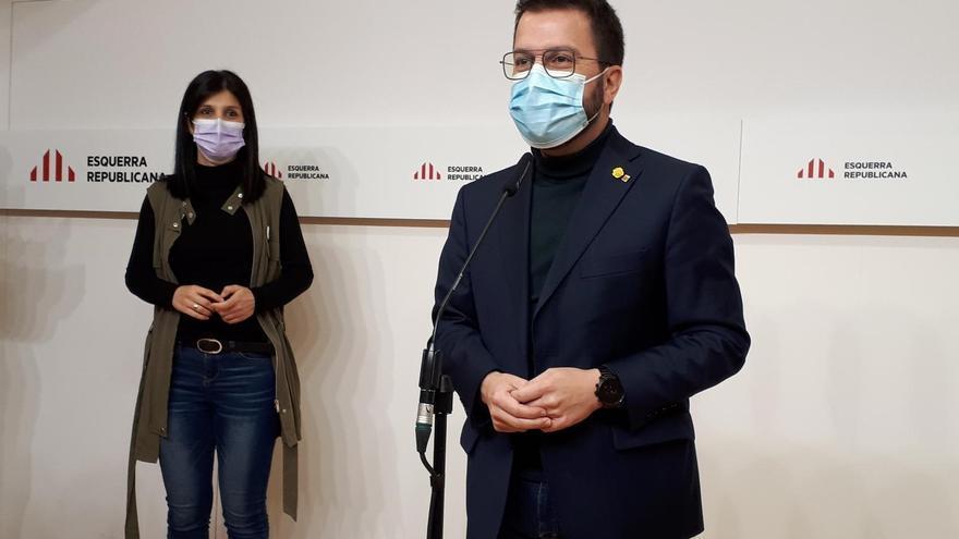 Aragonès insiste en la entrada de Junts en el Govern antes que gobernar en minoría