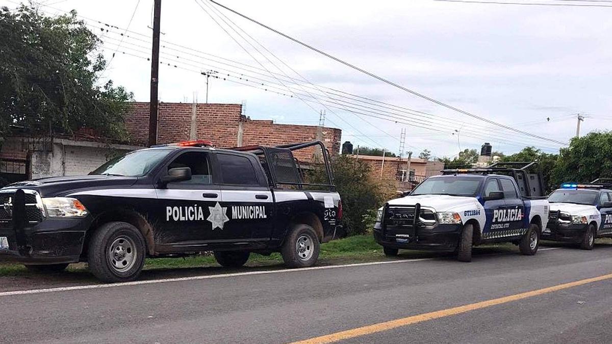 La policía acude a la escena de los hechos.
