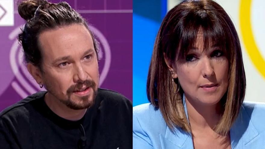 """La contundente respuesta de Mónica López tras las críticas de Pablo Iglesias: """"Sé que a mí me van a reventar por decir esto en televisión"""""""