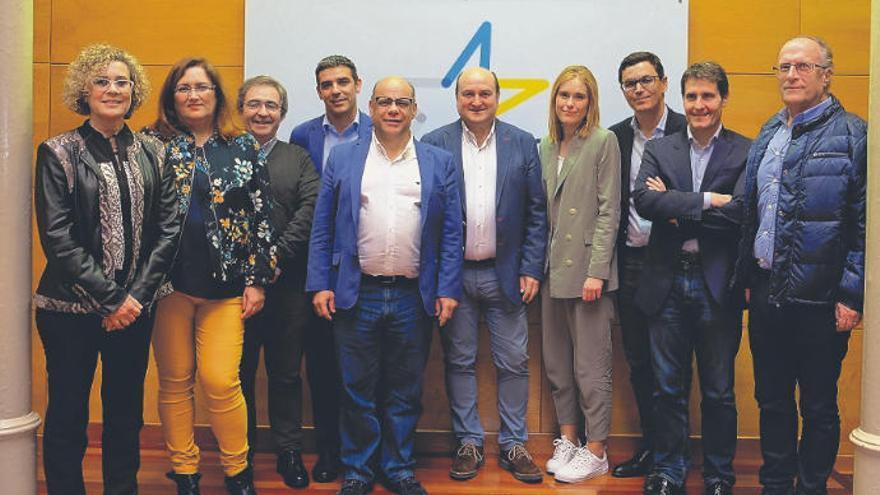 Coalición Canaria y PNV pactan ir otra vez juntos a las elecciones europeas en 2019