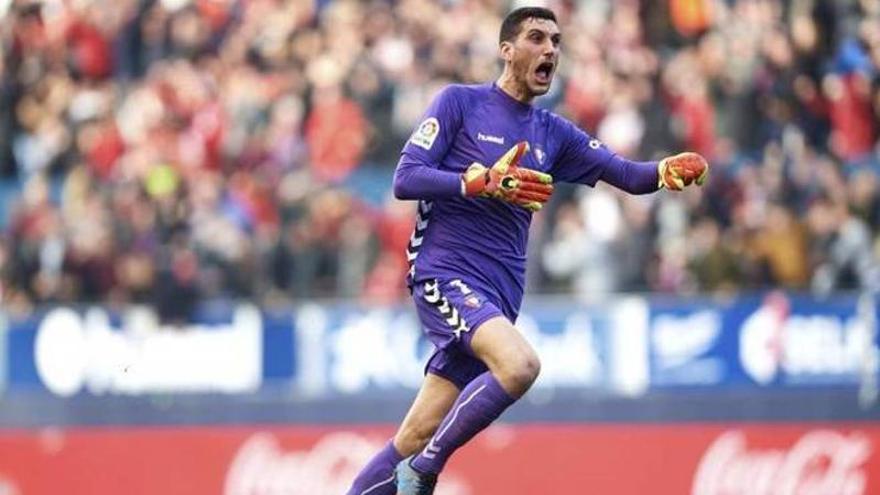 El Atlético insiste en fichar a Sergio Herrera