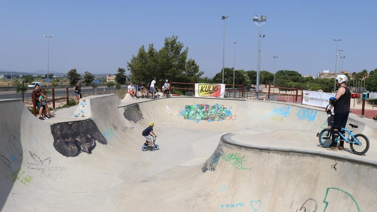 Skate Park Ignacio Echeverria de Albal.