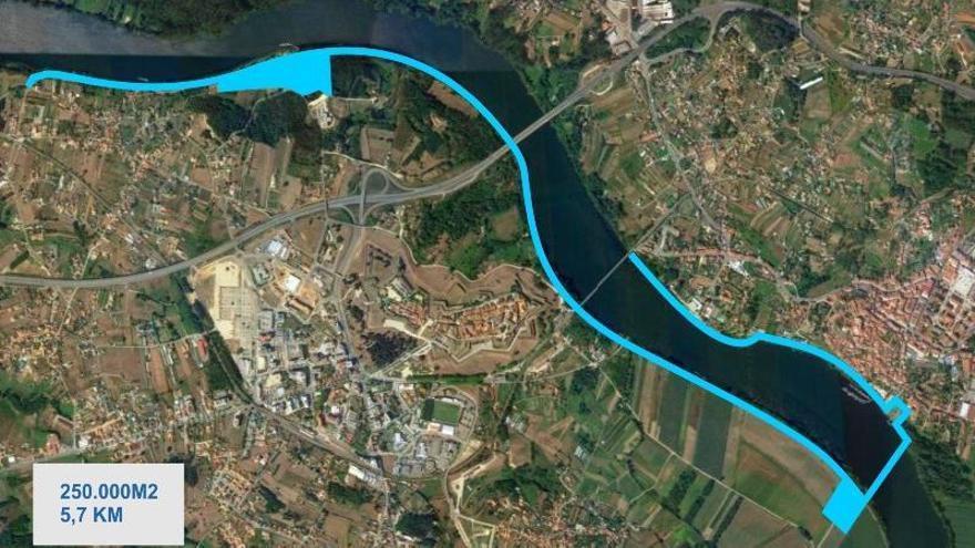 Nuevo puente sobre el Miño para reforzar los lazos (y el ocio) entre Tui y Valença