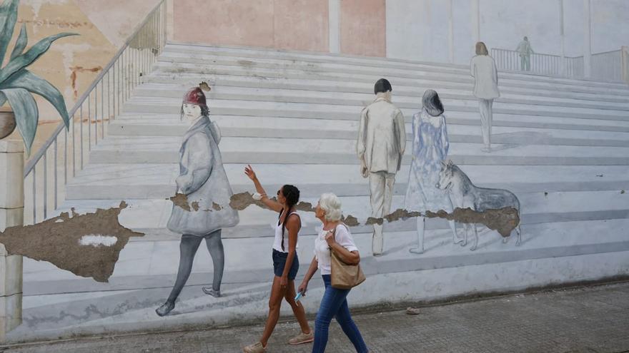 Los Amigos de Medina Azahara restaurarán el mural de Pepe Duarte del Jardín de los Poetas