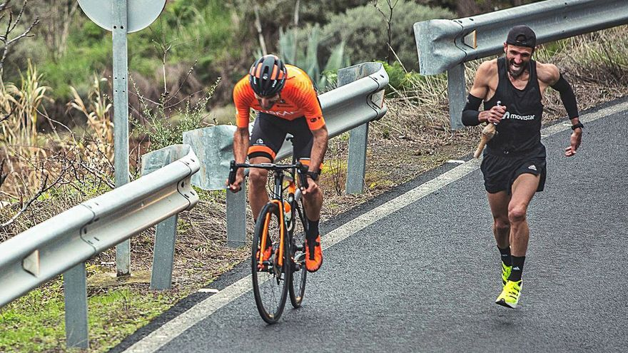 Luis Ángel Maté gana el desafío del Gran Canaria's Hardest Climb