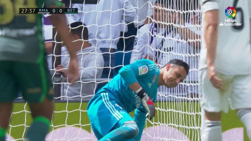 El Real Madrid cierra una temporada para olvidar con otra triste derrota ante el Betis