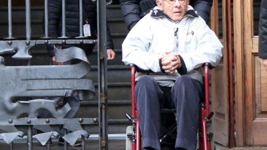 Millet aporta els 400.000 euros de fiança i queda en llibertat