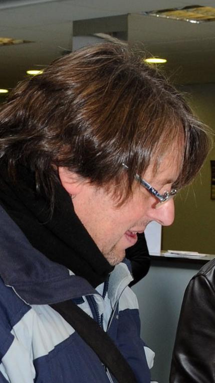 Juan Carlos Porto, profesor del avezado alumno demguitarra