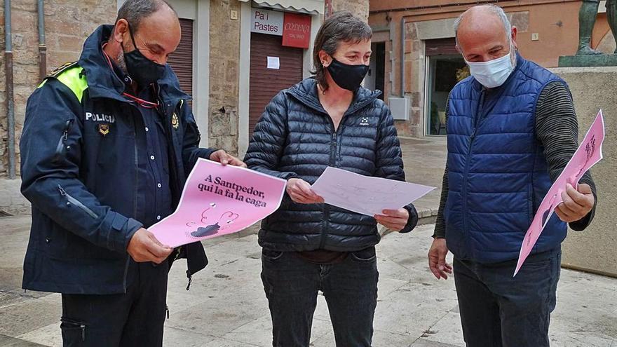 Santpedor engega una campanya per posar fre als excrements de gos