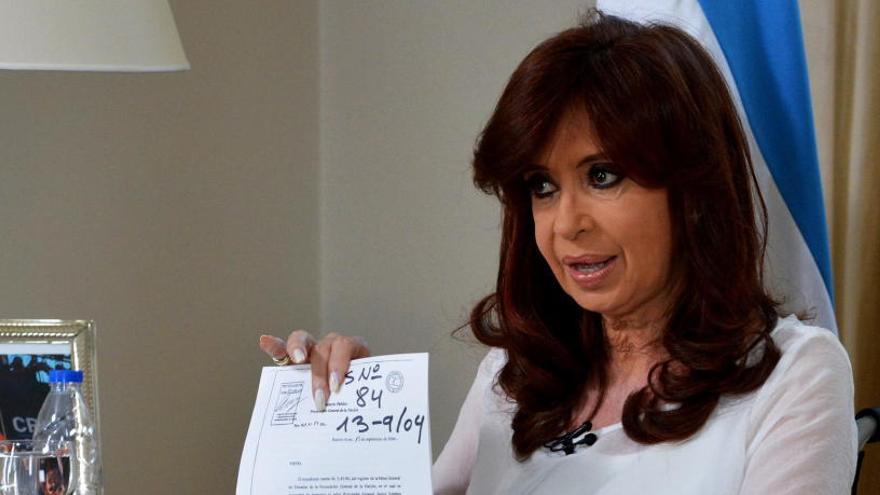 Cristina Fernández se postula como vicepresidenta