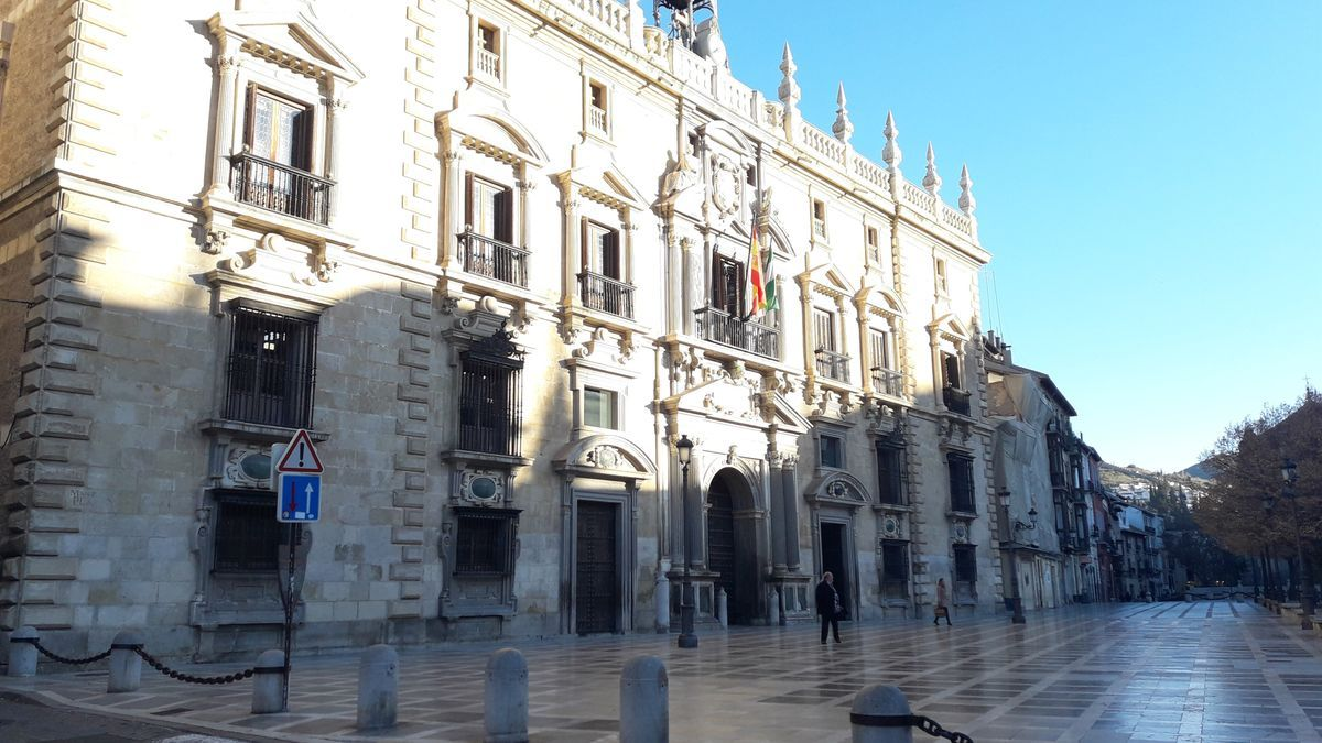 Fachada del TSJA en Granada.