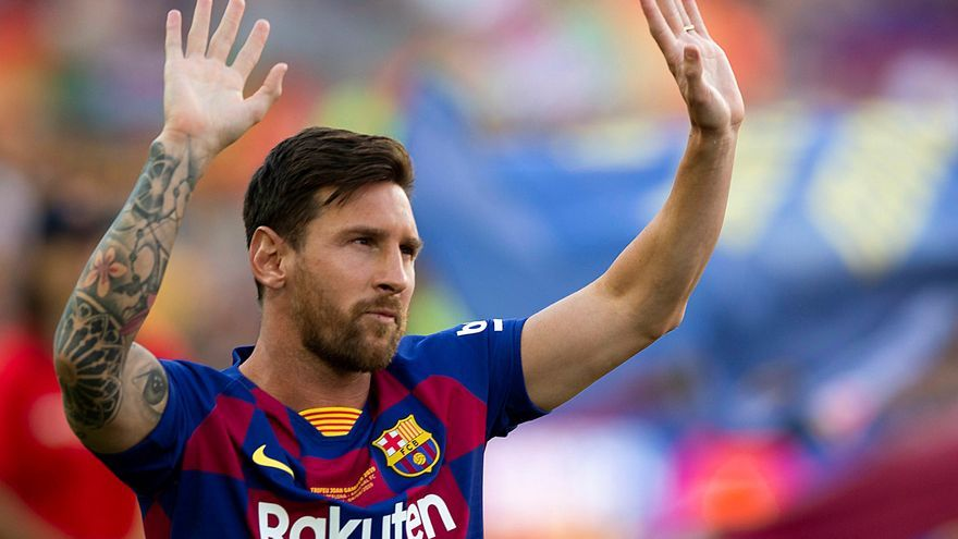Messi hunde al fútbol español