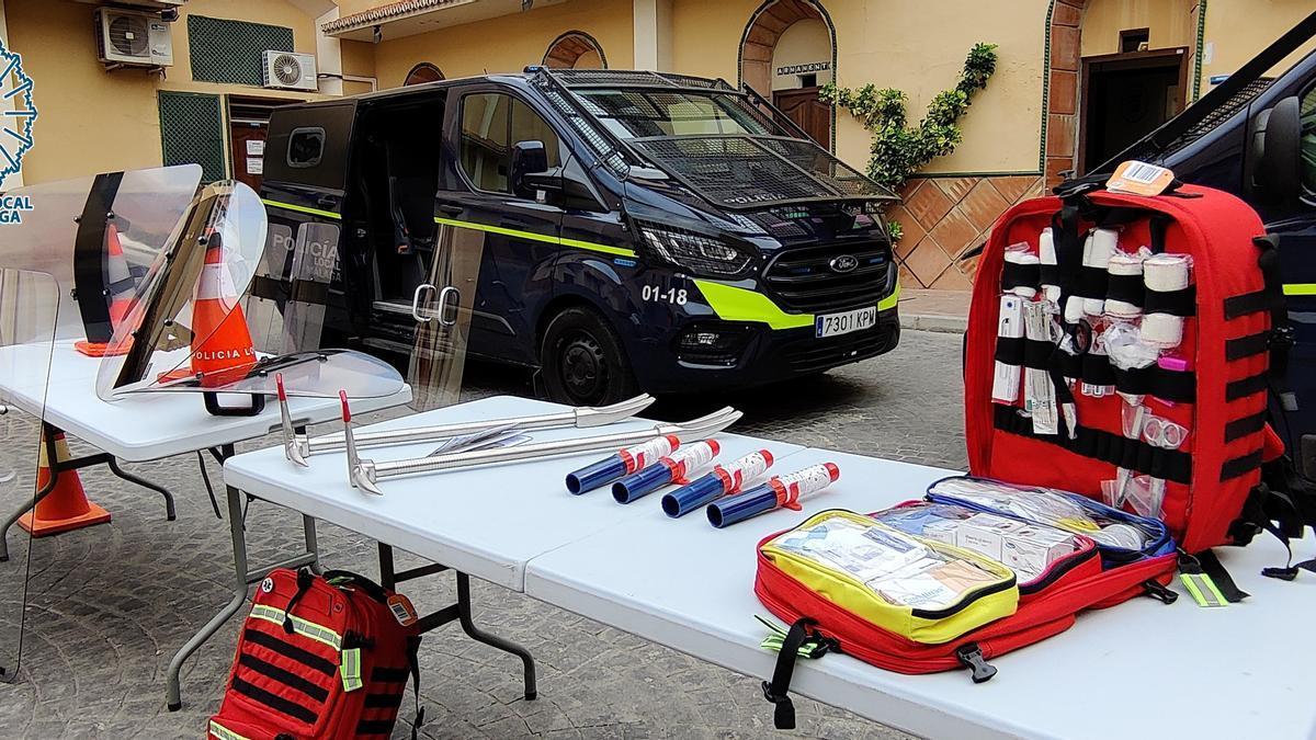 La Policía Local adquiere nuevo material para potenciar el servicio del GOA.
