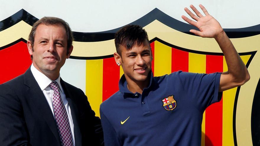El TAS da la razón al Barça en su litigio con el Santos por el fichaje de Neymar