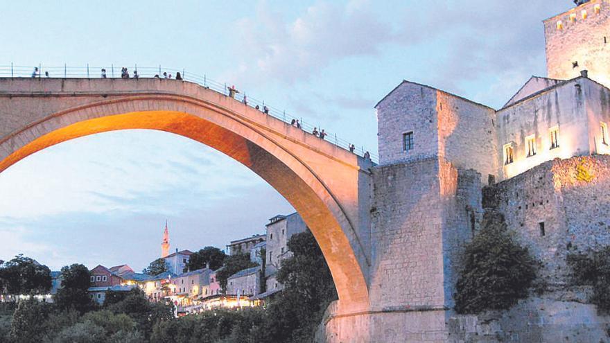 Mostar: El salt de Neretva