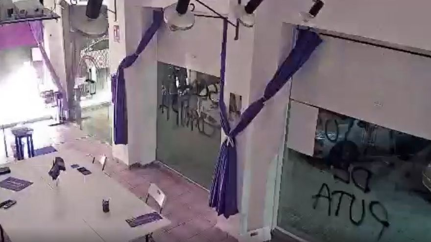 Multan a Podemos por las cámaras instaladas en su sede de Cartagena