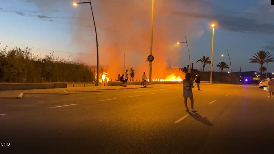 Declarado un nuevo incendio en ses Feixes de Ibiza