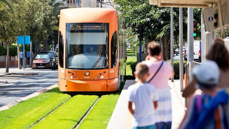 El TRAM conectará Alicante con el Hospital de Sant Joan con un ramal desde el campo de golf