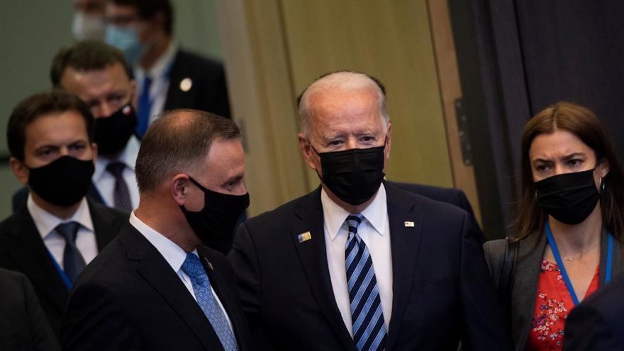 """Biden en la OTAN: """"Estados Unidos está de regreso"""""""