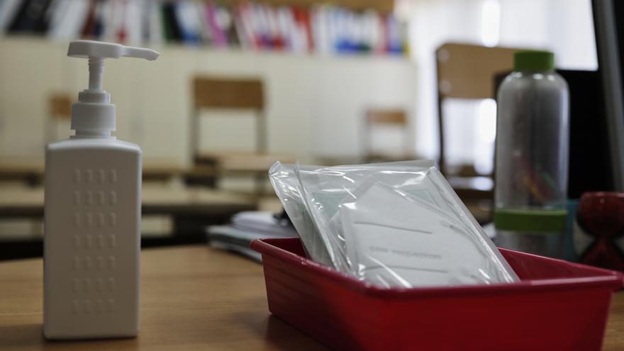 Las aulas en el modelo de enseñanza online bajan a una veintena en Extremadura