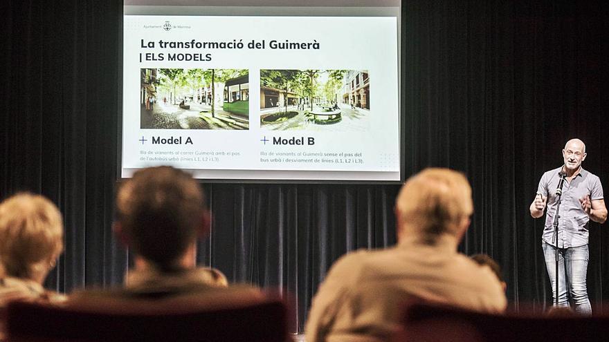 Aflora la preocupació veïnal a Manresa pel cost de la reforma del carrer Guimerà