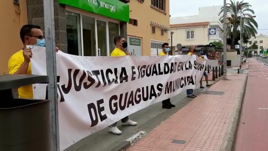 Protesta de guagüeros