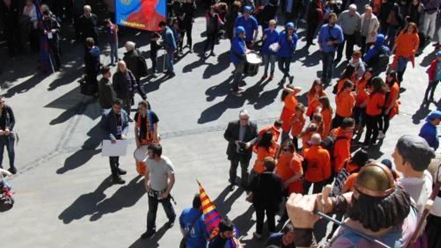 Més de 600 culers  a Figueres per la Trobada de Penyes de l'Empordà i de la Catalunya Nord