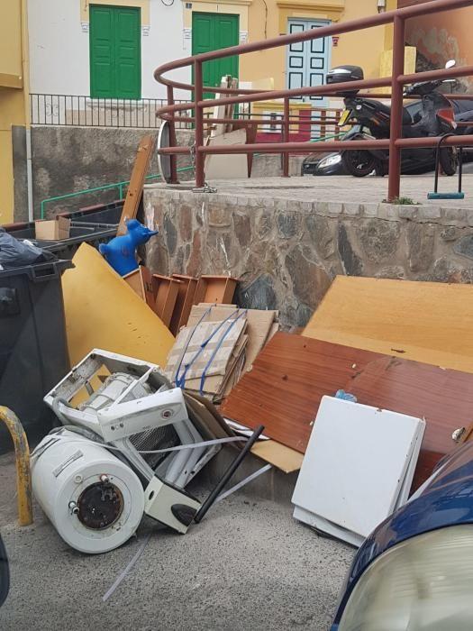 Dispositivo especial contra el abandono de escombros y muebles en la calle