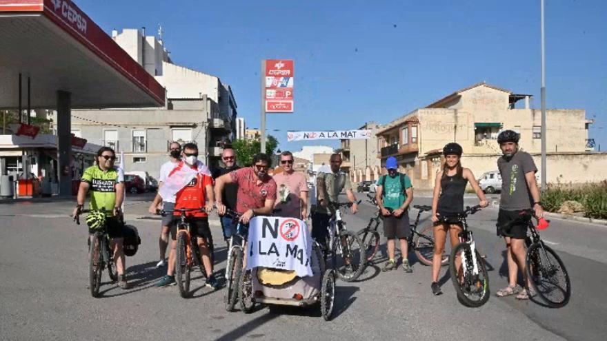 Ruta en bici entre Atzaneta y Borriol para plantar cara a la Muy Alta Tensión