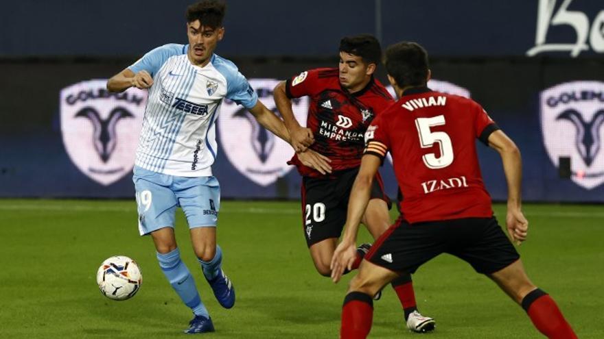Málaga CF - Mirandés, primer encuentro de la temporada con José Alberto como protagonista