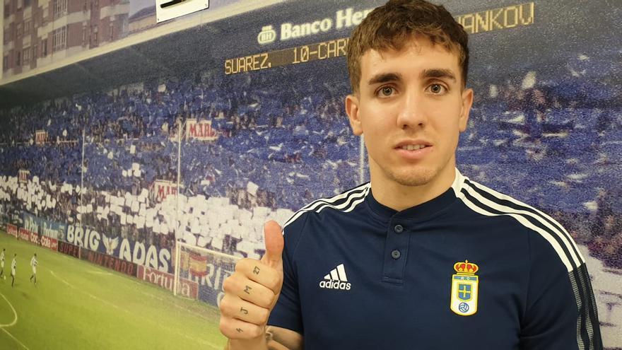 Joni Montiel, nuevo jugador del Oviedo