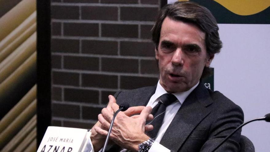 Aznar equipara l'assalt al Capitoli amb l'1-O a Catalunya