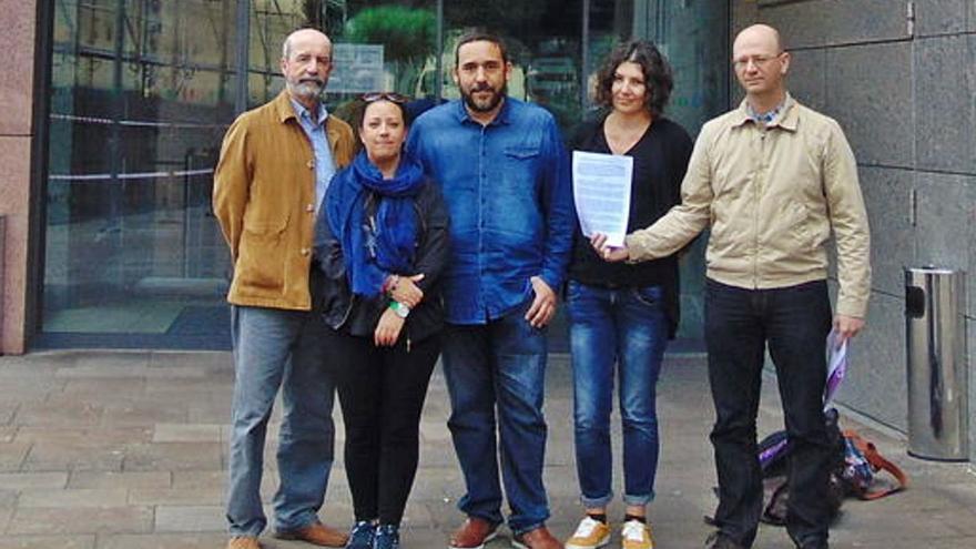 Coalición pide que los denunciantes del 'caso grúas' paguen la defensa de Clavijo