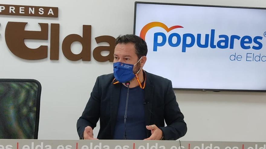 El PP de Elda reclama a la Generalitat los 2,2 millones que debe al Ayuntamiento