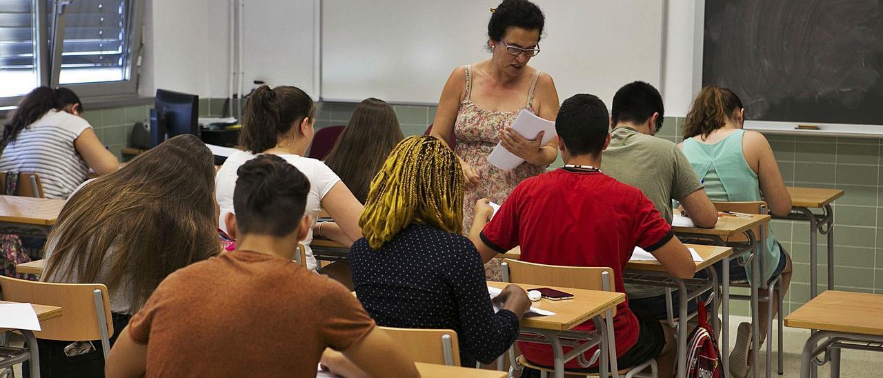 Los exámenes de recuperación no tendrán lugar desde este mismo curso en Secundaria. |
