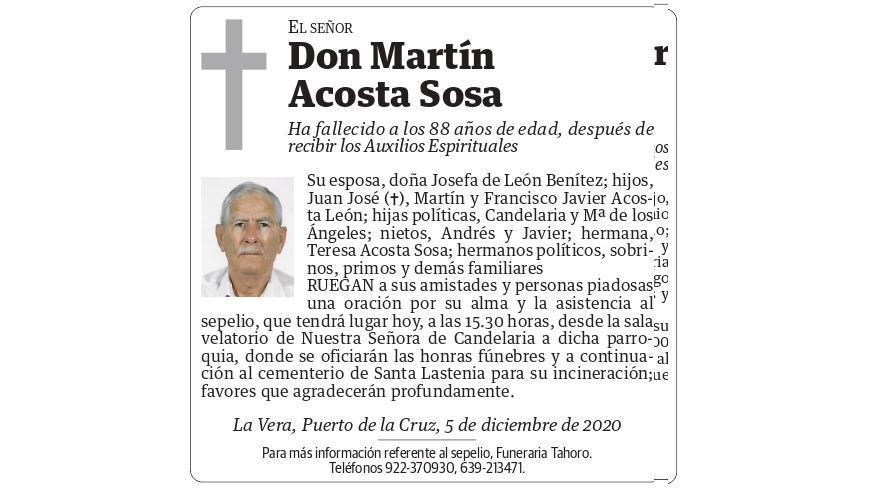 Martín Acosta Sosa