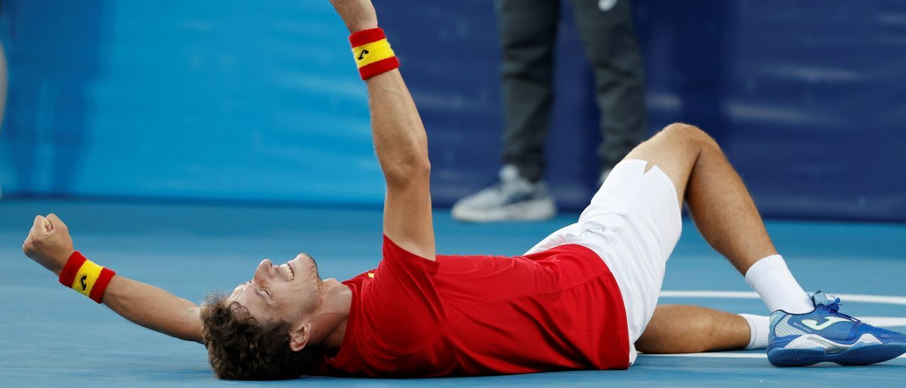 Pablo Carreño, tras ganar a Djokovic