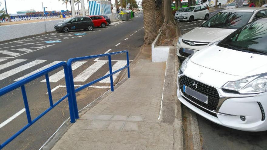 Costas autoriza las obras de mejora de la accesibilidad en Las Teresitas