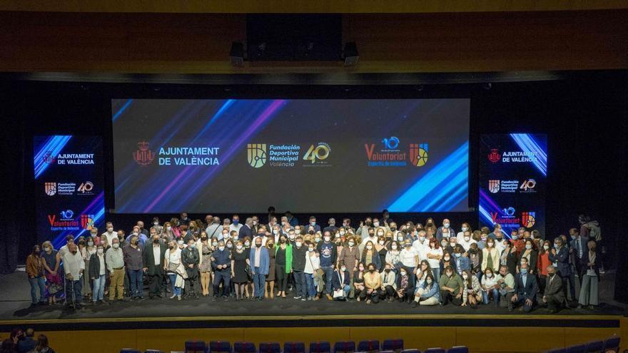 La FDM celebra 40 años rodeada del deporte valenciano