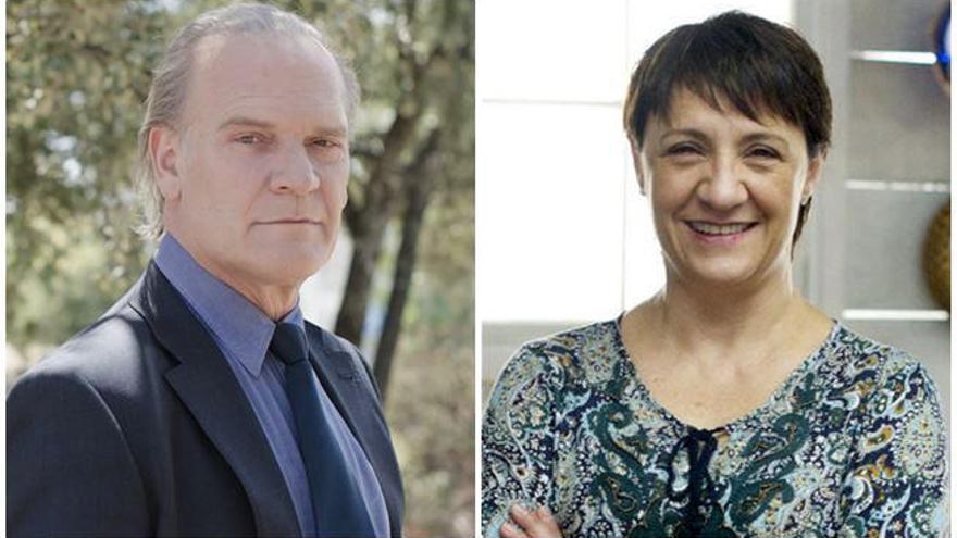 Lluís Homar y Blanca Portillo, en la nueva serie 'thriller' de Telecinco