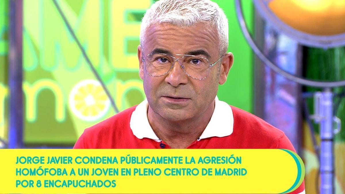 Jorge Javier Vázquez, en 'Sálvame'.