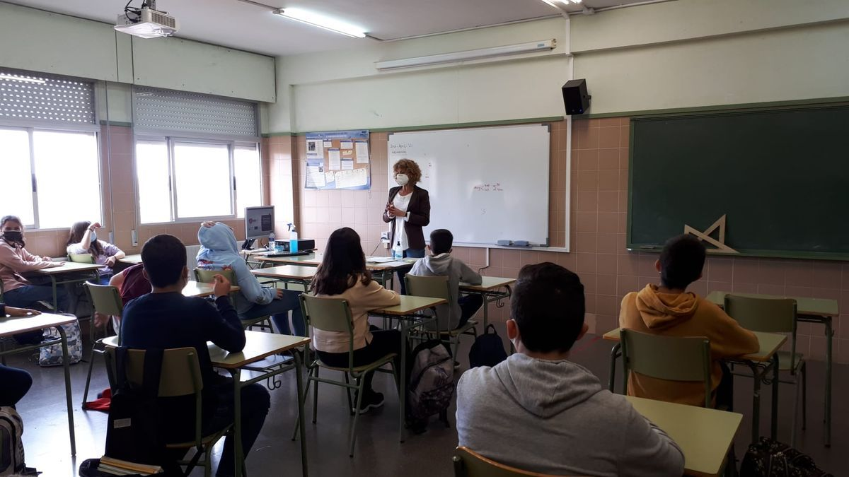 Una sesión del proyecto de la Mancomunitat Horta Sud