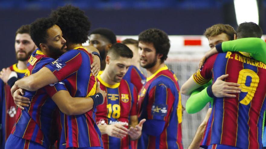 El Barça jugará la final de la Liga de Campeones de balonmano