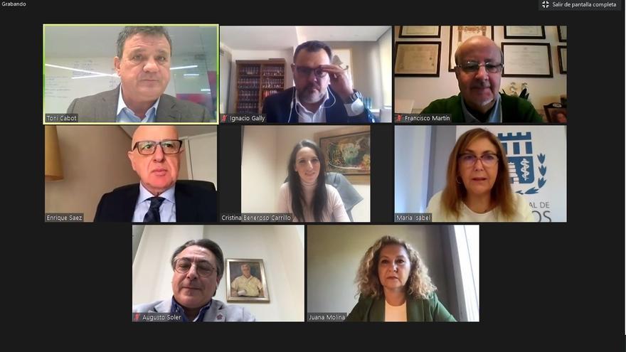 Las reivindicaciones de los colegios profesionales de Alicante ante la pandemia