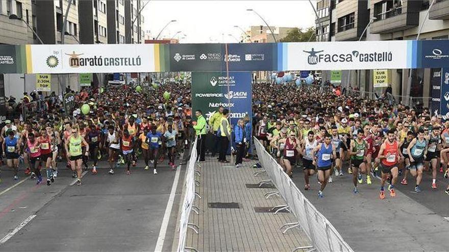 El Marató BP Castelló ultima los detalles a falta de un mes