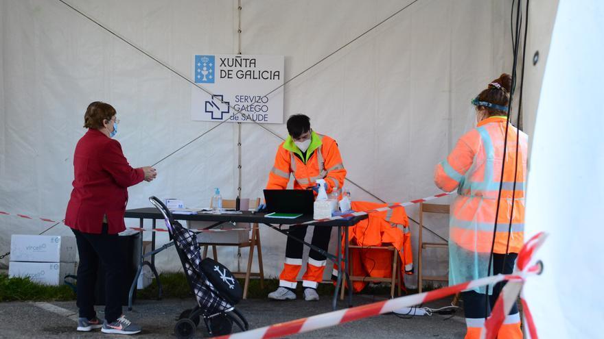 El Sergas comienza el cribado masivo para detectar casos de COVID en Bueu