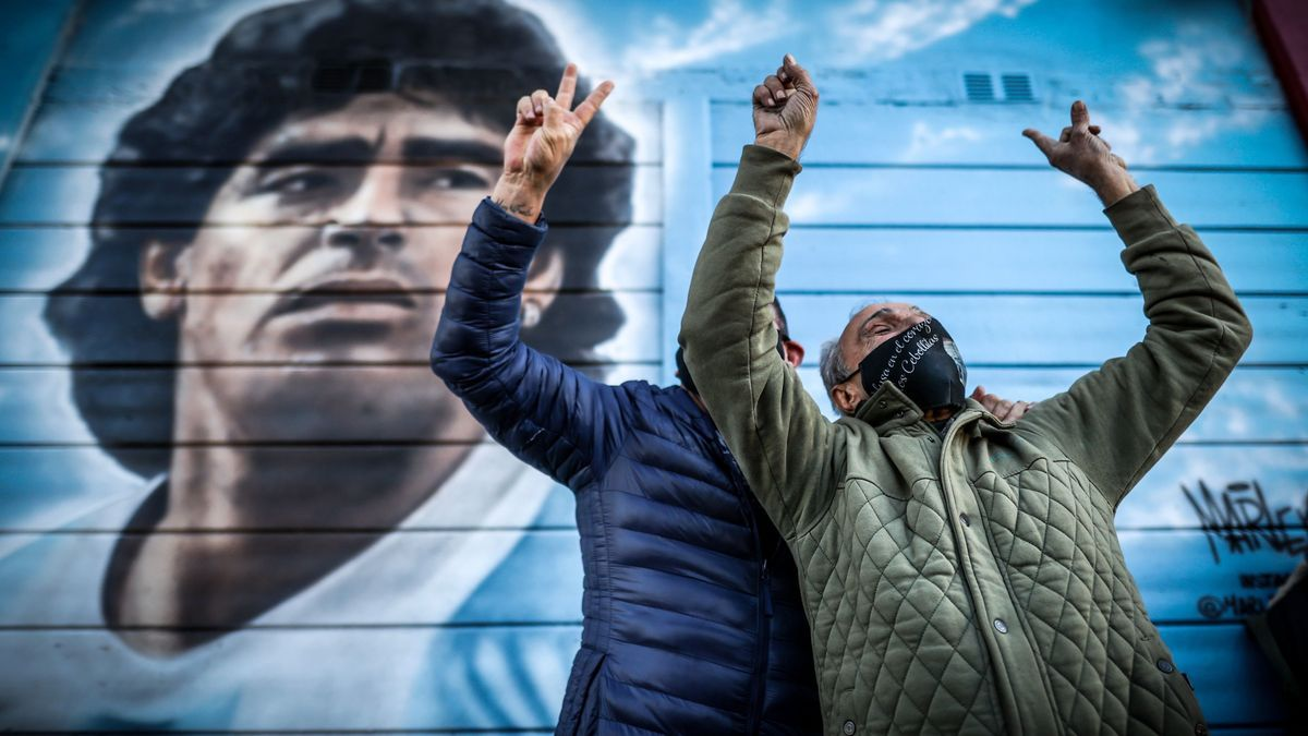 Argentina vuelve a gritar el 'Gol del siglo XX' de Maradona 35 años después