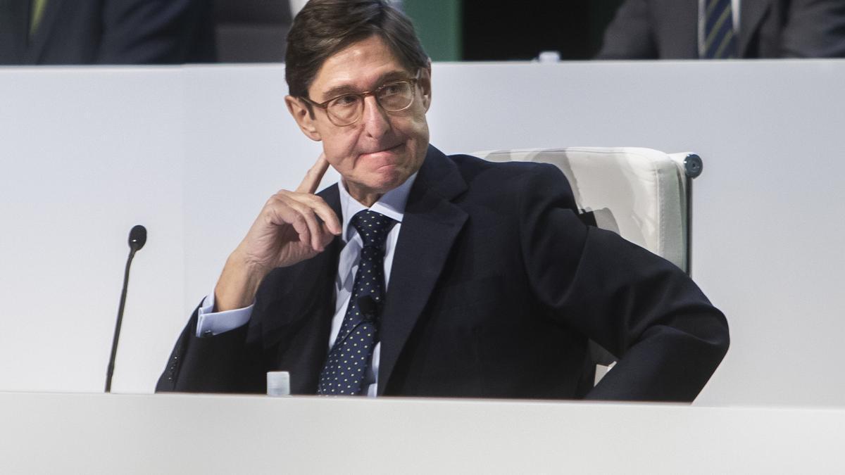 José Ignacio Goirgolzarri, presidente de CaixaBank.