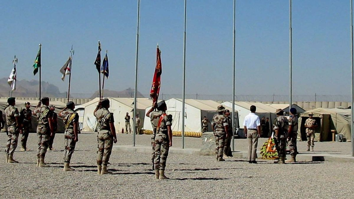 Así protegió el CNI la vida de los militares españoles en Afganistán.